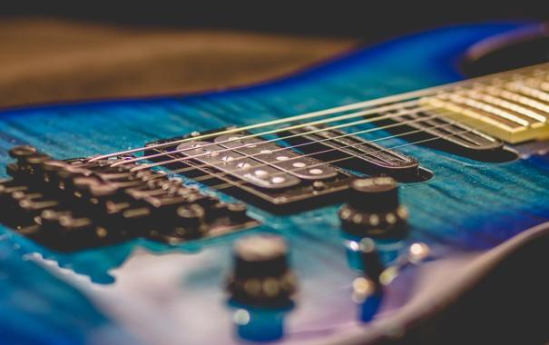 Фото обои музыка, фон, гитара, струны