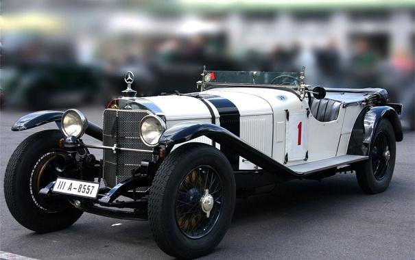 Фото обои car, раритет, benz, old, mersedes