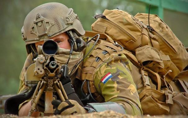 Фото обои оружие, солдат, Netherlands Korps Commandotroepen