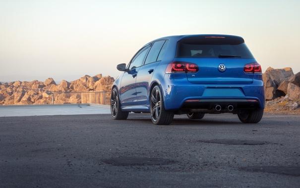 Фото обои desktop, wallpaper, cars, auto, photography, Golf R, обои авто