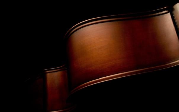 Фото обои чёрный, music, изгибы, макро фото, macro, музыкальные инструменты