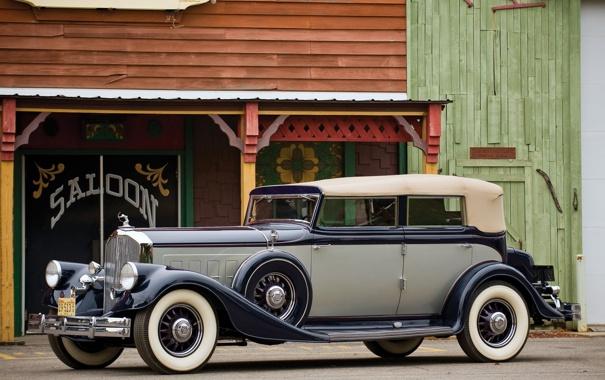 Фото обои авто, ретро, обои, wallpaper, статуэтка, салон, лучник