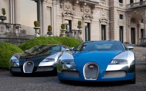 Фото обои автомобили, машины, Обои Bugatti, белый, авто