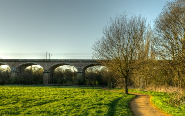 Фото обои London, England, Brent Meadow, Hanwell