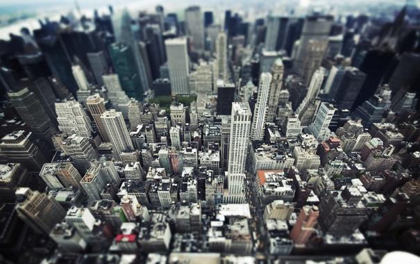 Фото обои город, здания, NYC