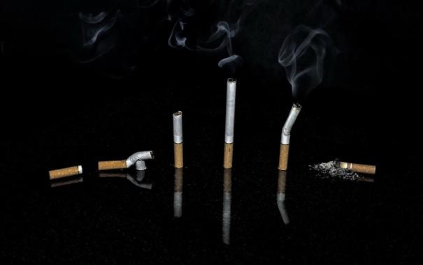 Фото обои фон, дым, сигареты