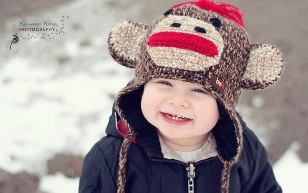 Фото обои улыбка, настроение, малий