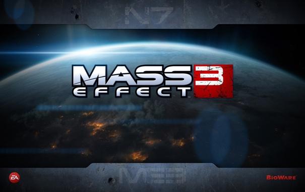 Фото обои земля, в огне, Mass Effect 3, bioware