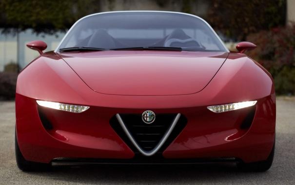 Фото обои машина, авто, Alfa, romeo