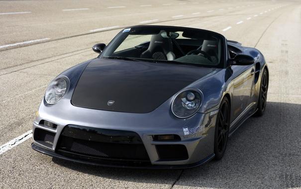 Фото обои драйв, трасса, 911, Porsche, кабриолет, порше, гоночная