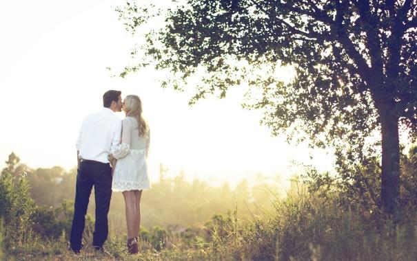 Фото обои любовь, настроение, свидание