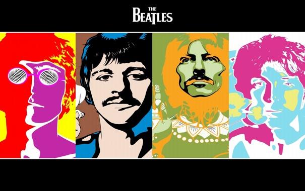 Фото обои группа, Beatles, музыканты