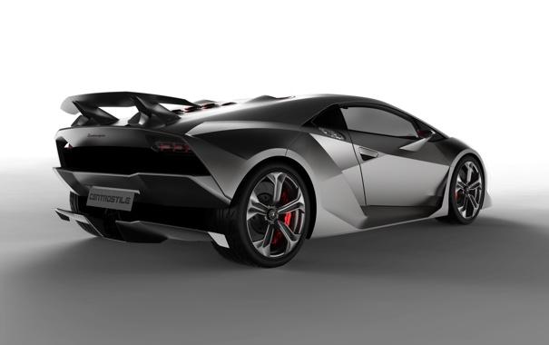Фото обои Concept, Концепт, Lamborghini Sesto Elemento