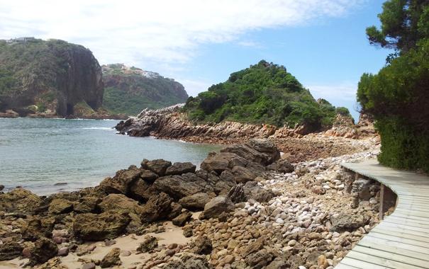 Фото обои камни, дорожка, скалы, небо, доски, ЮАР, настил