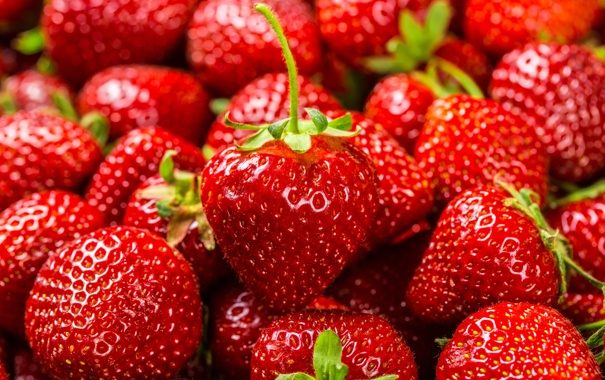 Фото обои ягоды, фон, клубника, strawberry, fresh berries