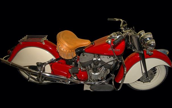Фото обои ретро, байк, мотоцикл, бахрома