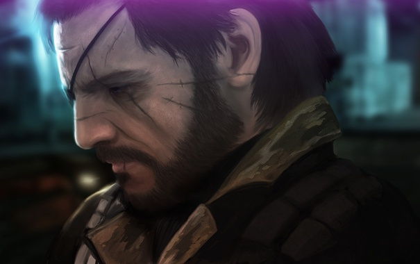 Фото обои Naked Snake, mgs, Big Boss, Metal Gear Solid V: The Phantom Pain, Punished Snake