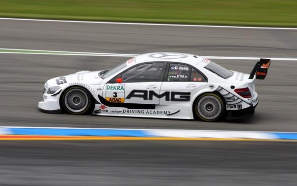 Фото обои Mercedes-Benz, Фото, Скорость, Гонка, Трасса, AMG, Motorsport