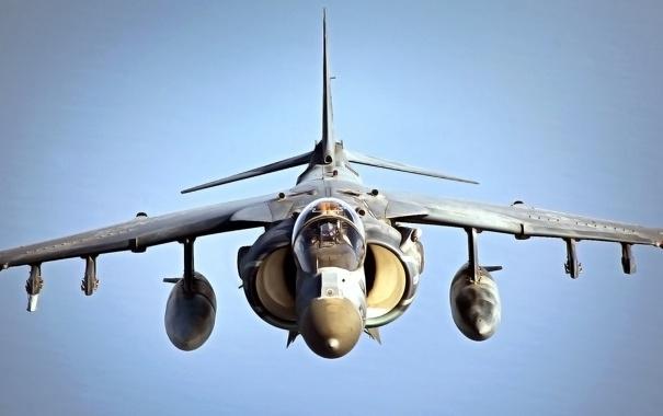 Фото обои Самолет, Истребитель, День, Крылья, Великобритания, США, Кабина