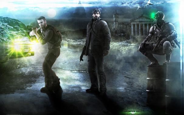 Фото обои город, агент, вашингтон, Сэм Фишер, Splinter Cell