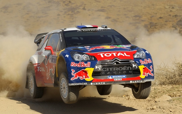 Фото обои Пыль, Спорт, Ситроен, Citroen, DS3, Rally, Ралли