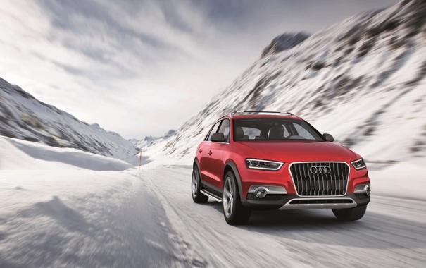 Фото обои Audi, Audi Q3 Concept, внедорожник, 4х4, Audi Q3 Vail, wallpapers auto, auto