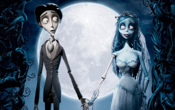Фото обои куклы, кости, невеста, мертвая