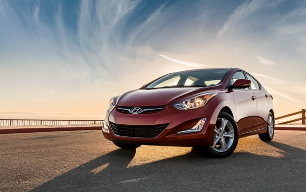 Фото обои Hyundai, Elantra, 2015, хундай, элантра, Value Edition