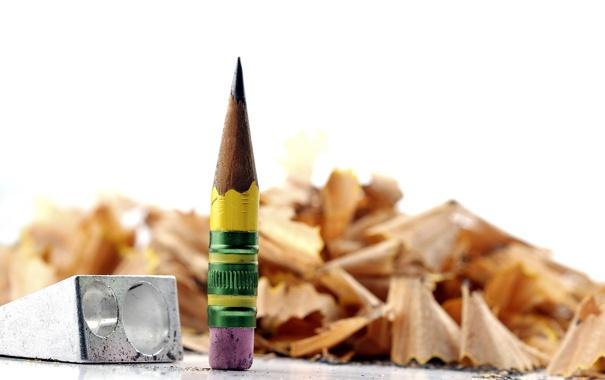 Фото обои макро, фон, карандаш