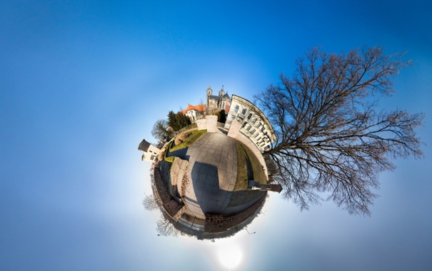 Фото обои germany, roundabout, magdeburg, Fürstenwallpark