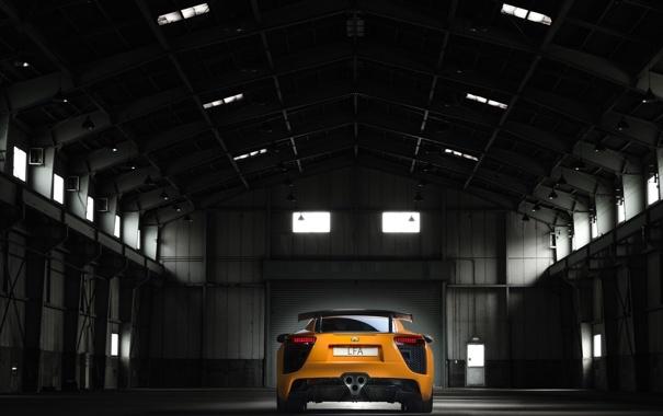 Фото обои авто, машины, завод, Lexus, лексус, боксы, гаражи
