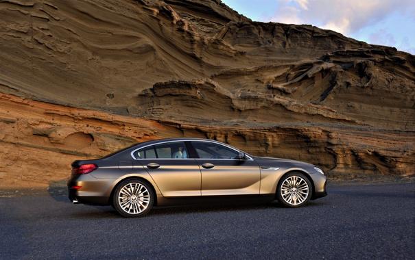 Фото обои Авто, Скалы, BMW, Машина, Бумер, БМВ, День