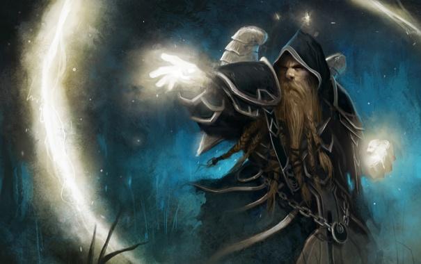 Фото обои фон, WoW, World of Warcraft, Варкрафт, Priest, ВоВ, Прист