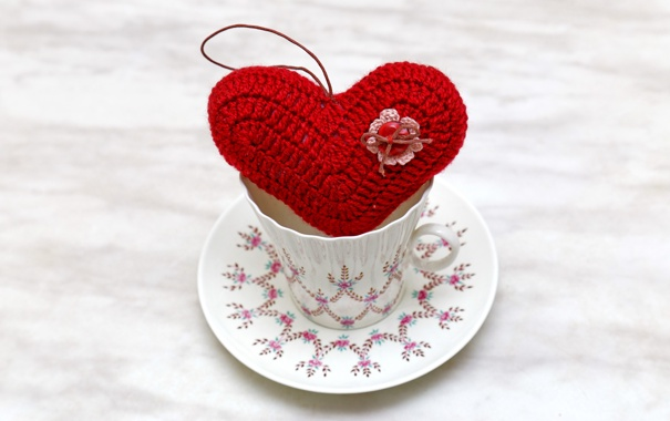 Фото обои любовь, сердце, чашка, love, heart, romantic