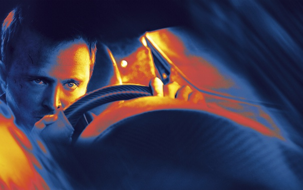 Фото обои авто, обработка, руль, постер, Need for Speed, гонщик, Aaron Paul
