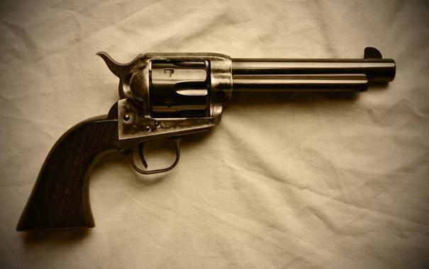 Фото обои оружие, ствол, револьвер