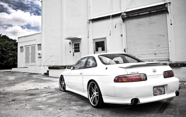 Фото обои тачки, авто обои, cars, 400, auto wallpapers, белый, лексус