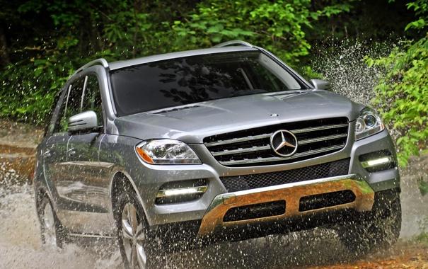 Фото обои Mercedes-Benz, 2012, ML350, 4MATIC