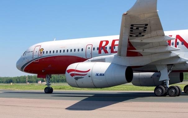 Фото обои Tupolev, Туполев, Red Wings, RA-64050, Ту-204, Tu-204, 100B