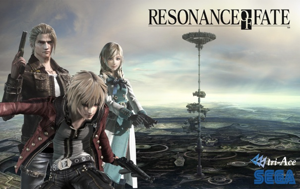 Фото обои resonance of fate, tri-Ace, Sega, Leanne, Zephyr, Vashyron, End of Eternity