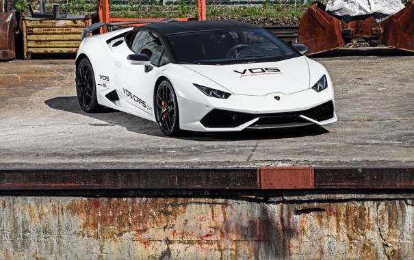 Фото обои Lamborghini, ламборджини, 2015, Huracan, LB724, хуракан, VOS