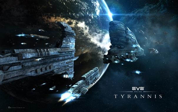 Фото обои игра, space, eve, tyrannis