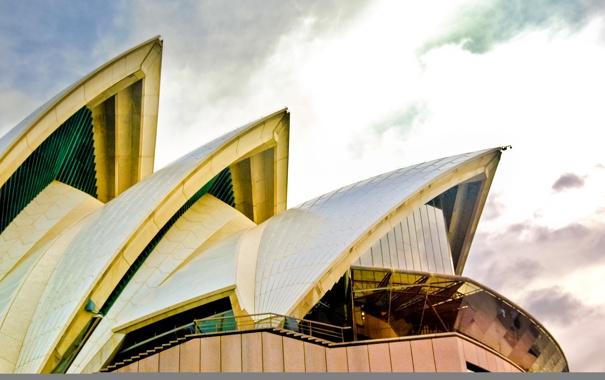 Фото обои крыша, Сидней, Опера, архитектура, Sydney, Opera House