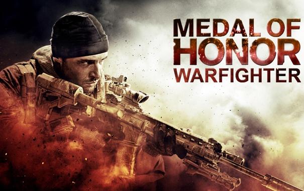 Фото обои пыль, солдат, medal of honor, MoH