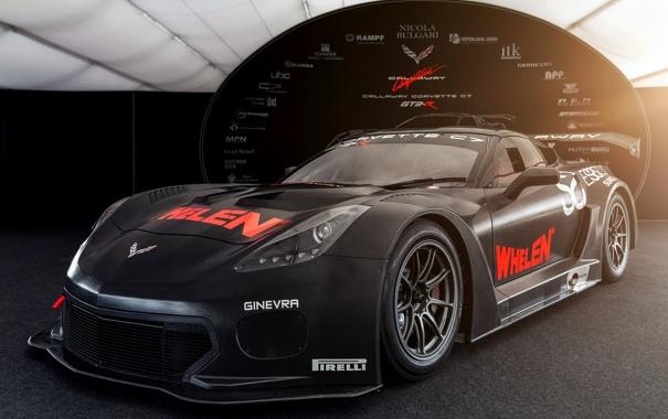 Фото обои Corvette, Chevrolet, шевроле, корветт, GT3-R, Callaway