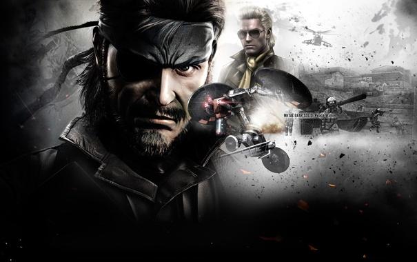 Фото обои Metal Gear Solid, Chrysalis, Naked Snake, Peace Walker, Kazuhira Miller, McDonell Benedict Miller