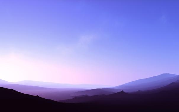 Фото обои небо, горы, фото, обои, пейзажи, вид, красота