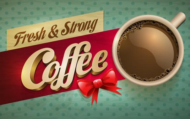 Фото обои стакан, фон, надпись, кофе, coffee