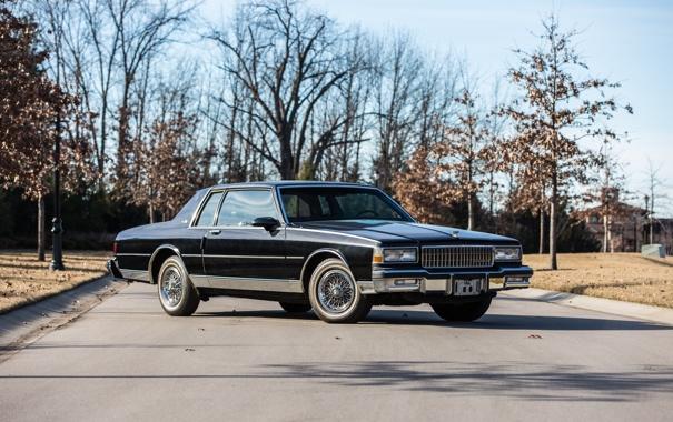 Фото обои купе, Chevrolet, шевроле, Classic, Coupe, Caprice, 1987