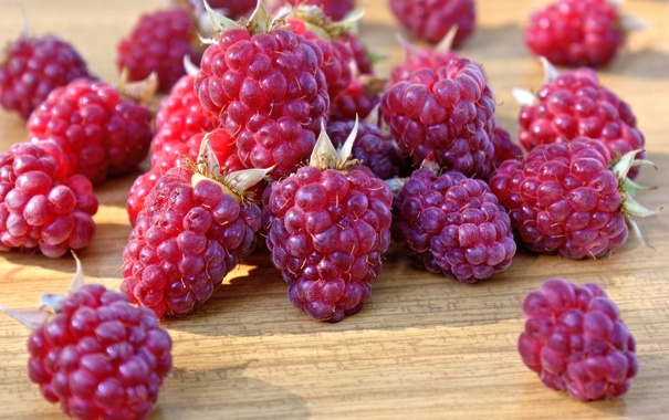 Фото обои berries, малина, ягоды, raspberry, fresh